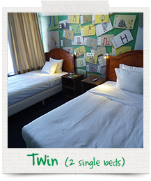2single beds rooms